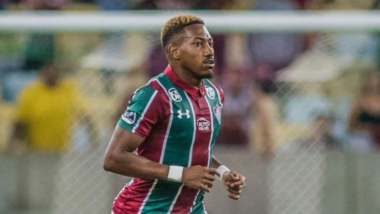 Pablo Dyego - 26 anos - Fluminense - Atacante - Cria de Xerém, o atacante Pablo Dyego foi emprestado pelo Fluminense ao Atlético-GO até o fim de 2021. O jogador de 26 anos estava no CRB, onde disputou a Série B.