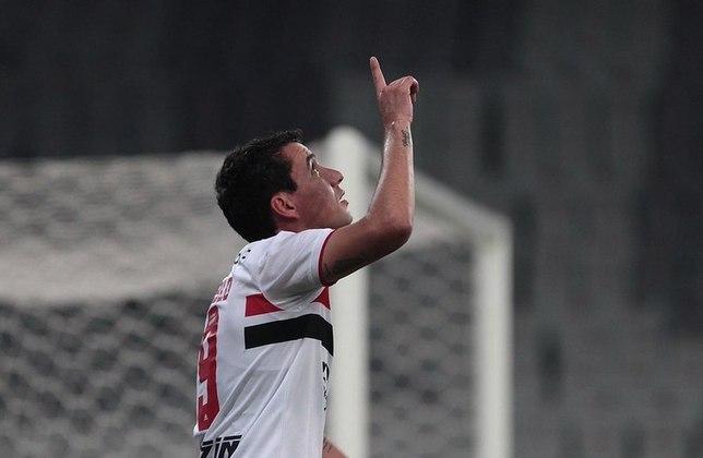 Pablo - o centroavante de 29 anos tem valor estimado em três milhões de euros (cerca de R$ 18,5 milhões). Seu contrato com o São Paulo vai até dezembro de 2022.