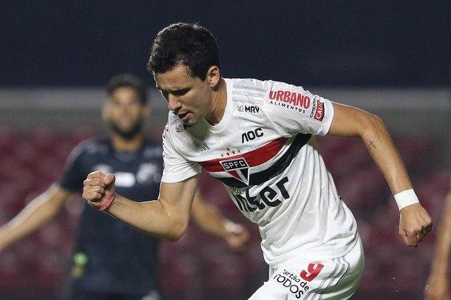 Pablo - São Paulo 2 X 1 Santos - Atacante saiu do banco e marcou seu segundo gol na temporada para empatar o clássico, último jogo antes da parada