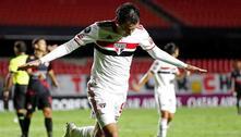 São Paulo bate o Rentistas por 2 a 0 e mantém os 100% na Libertadores