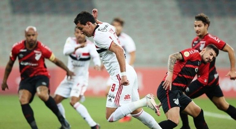 Pablo foi o destaque do time são-paulino