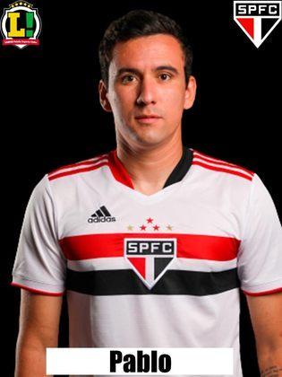 Pablo - Segue no elenco do São Paulo, e alterna entre a titularidade e a reserva
