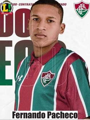 Pacheco - 5,0 Sumido, o atacante não aproveitou sua oportunidade no ataque do Fluminense. Com poucas participações na partida, acabou substituído no intervalo por Fred.