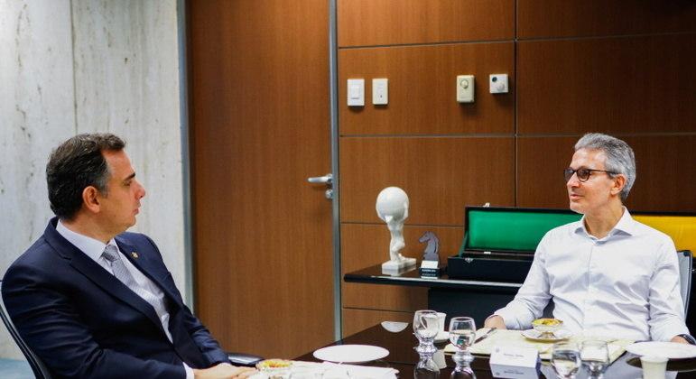 Pacheco visitou Minas Gerais pela primeira vez oficialmente após ser eleito presidente do Senado