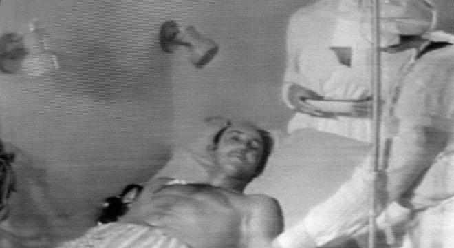 Vários trabalhadores de Chernobyl sofreram efeitos graves devido à radiação.