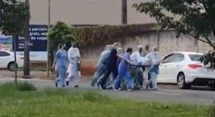 Paciente é resgatado aós fugir de hospital em Londrina (PR)