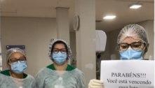 'Vou tirar o tubo da sua garganta', diz enfermeira. Vídeo viraliza