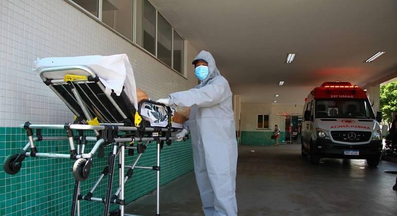 """Hospital e Pronto-Socorro 28 de agosto, em Manaus (AM): """"Nunca vi nada parecido"""""""