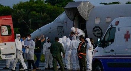 Governo já transferiu 585 pacientes de Manaus