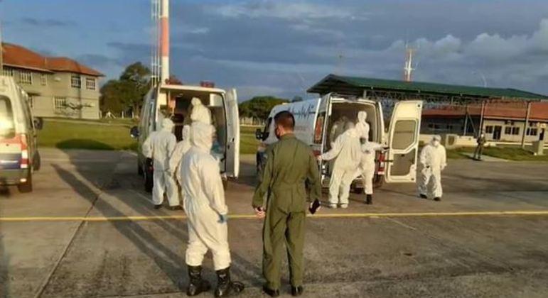 Pacientes são transferidos do Mato Grosso do Sul para hospital da capital de SP