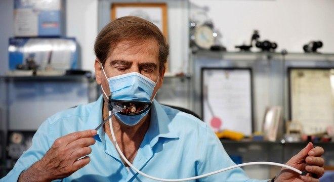 Empresa planeja iniciar a fabricação das máscaras nos próximos meses