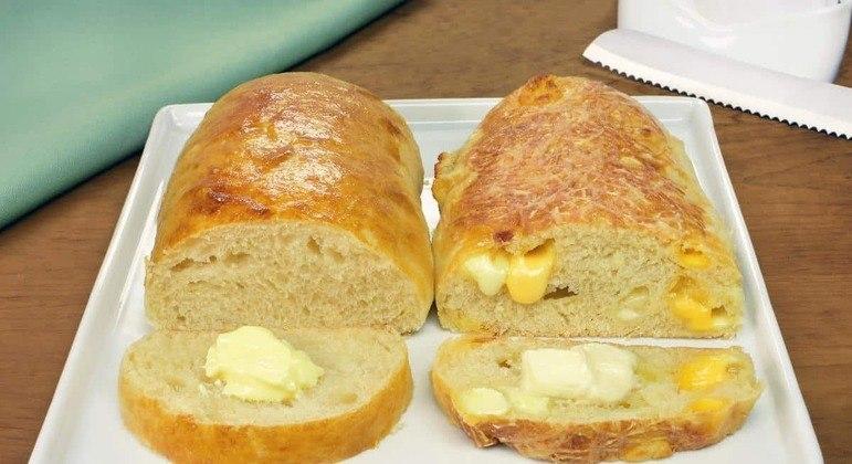pães de liquidificador