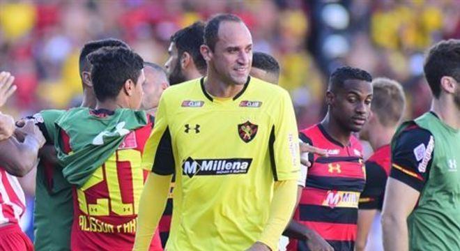 Pagamento do ex-goleiro tinha sido suspenso após o clube entrar na justiça do trabalho alegando crise devido ao coronavírus