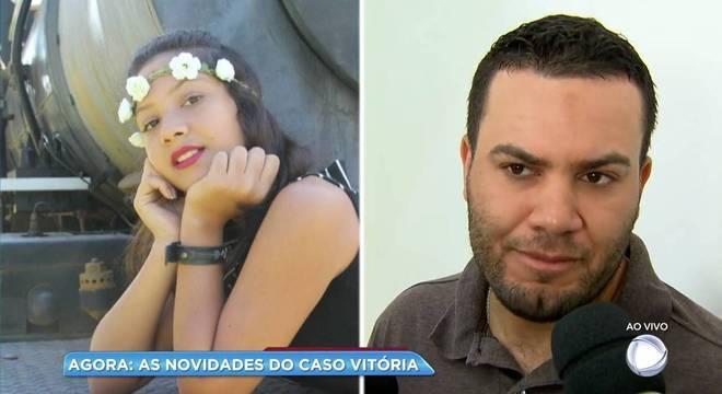"""Roberto Vaz, pai da menina Vitória: """"agora ela não vai mais sofrer"""""""