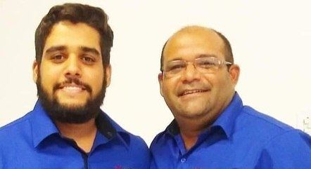Pai e filho foram internados no início de março