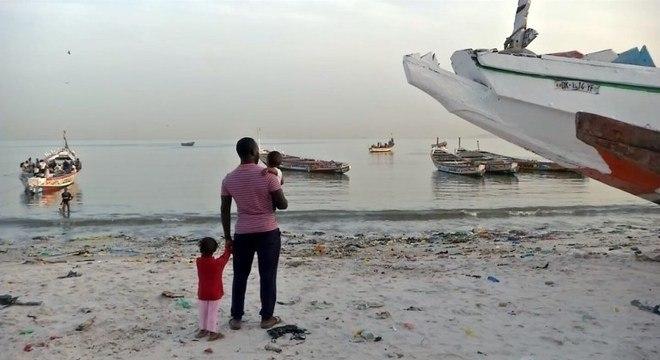 A fuga é a solução para a muitos negros na Mauritânia