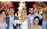 Uma pequena recordação do casamento de Gusttavo com Andressa também pode ser vista no Instagram do senhor AlcinoVeja mais:'Venenosas' opinam se separação de Gusttavo Lima é real ou fake