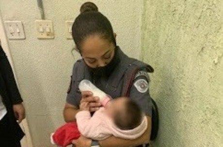 Bebê de 6 meses tinha lesões na cabeça, olho e nos pés