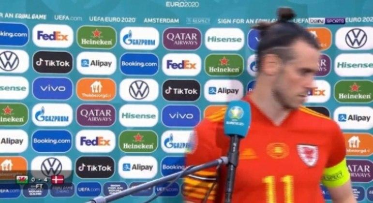 País de Gales x Dinamarca - Gareth Bale
