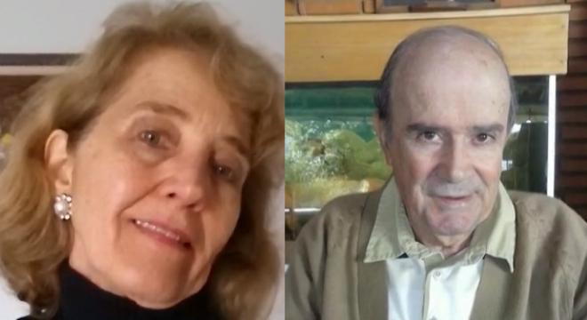 Os dois estavam em casa e receberam a visita do filho e foram mortos a facadas