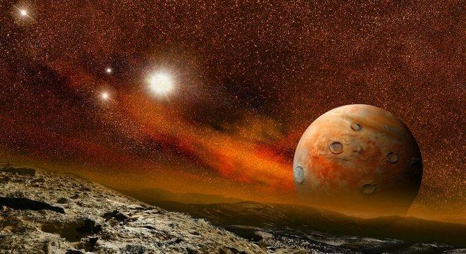 """Existem planetas semelhantes em tamanho e massa à Terra que orbitam estrelas menores de """"anã vermelha"""""""
