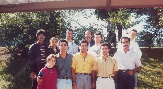 Paknoosh Kharaghani (à direita na foto) recém-chegado ao Brasil, nos anos 80: 'O que eu queria era busca, e uma vida melhor'