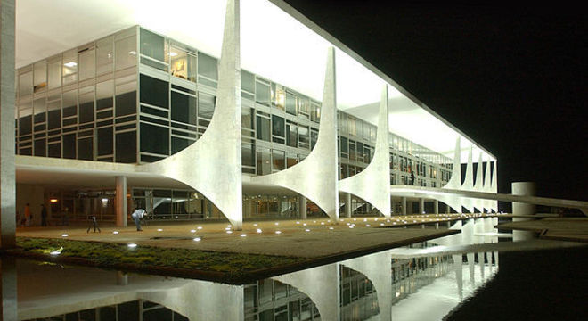 Palácio do Planalto, local de trabalho do presidente da República