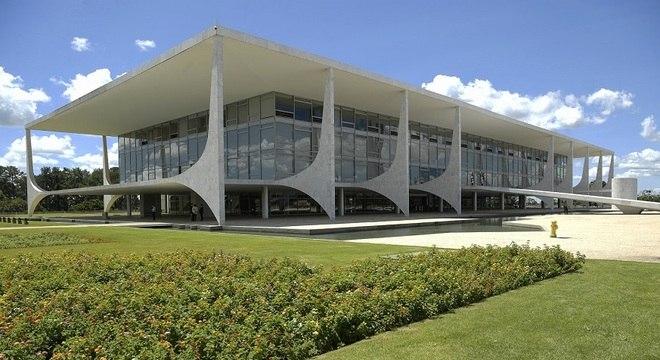 Palácio do Planalto (imagem) registra 178 funcionários com coronavírus