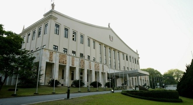 Na imagem, Palácio dos Bandeirantes, localizado na zona sul de São Paulo