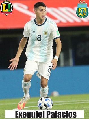 Palacios - 5,0 - Entrou no lugar do Di Maria para reforçar a defesa pelo meio e impediu que o Brasil encontrasse espaço pelo setor.