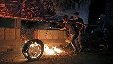 Confrontos entre polícia israelense e palestinos deixam 90 feridos