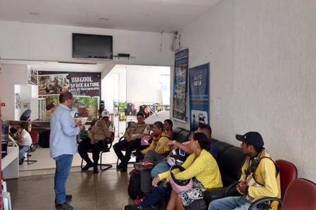 Durante ação na Bingool Motos em Porto Velho