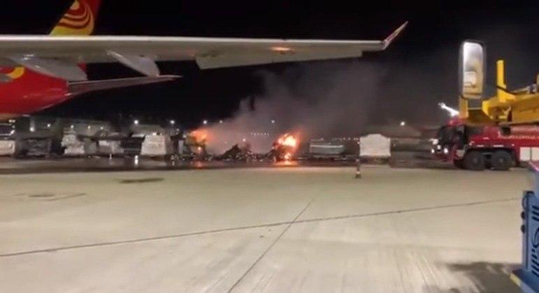 Bombeiros chegaram ao local 40 minutos depois; ninguém ficou ferido