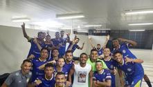 Avião cai em TO com jogadores epresidente do Palmas Futebol