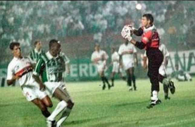 Palmeiras 0 x 0 São Paulo - Libertadores 1994: Choque-Rei nas oitavas de final da Libertadores. O jogo de ida, no Pacaembu, terminou empatado sem gols.