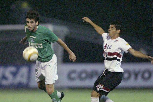 Palmeiras 0 x 1 São Paulo - Libertadores 2005: mais um Choque-Rei na Libertadores. Pelas oitavas de final, o jogo de ida terminou com vitória do Tricolor, com gol marcado por Cicinho.