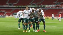 'Esse Palmeiras não se verga', garante o empolgado Abel