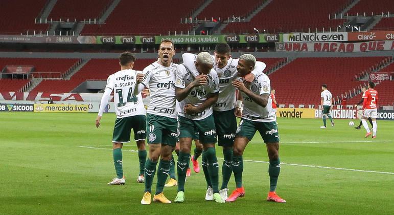 Palmeiras conseguiu uma vitória importante para a confiança no título brasileiro