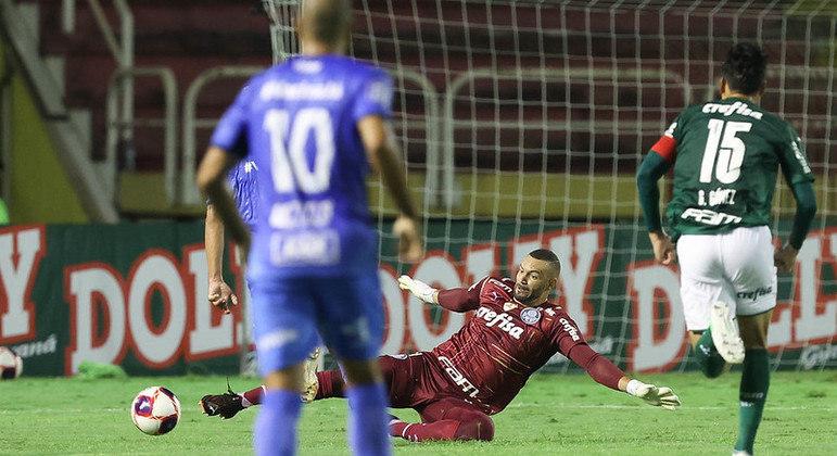 Palmeiras e São Bento. Jogo do Paulista foi disputado em Volta Redonda, no Rio de Janeiro