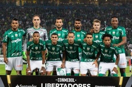 O Palmeiras foi o time com mais gastos no futebol