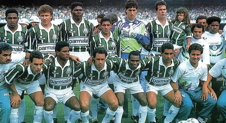 1993. Última vez que o Palmeiras conquistou três títulos em uma temporada