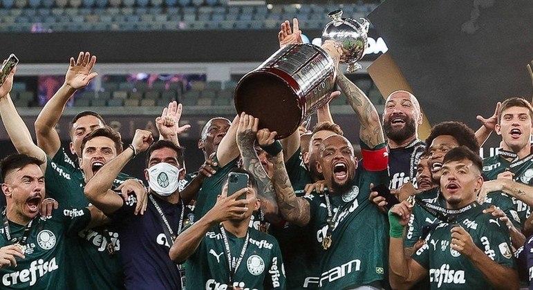 Palmeiras comemora a sua segunda Libertadores. Depois, de 22 anos, nova chance