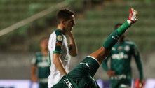 Palmeiras cai para terceiro no Brasileiro. Culpa de Vuaden. E do medo contra o limitado América