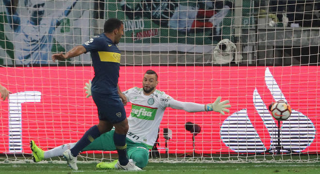 O Palmeiras tinha 26 jogos a mais que o Boca, na semifinal da Libertadores