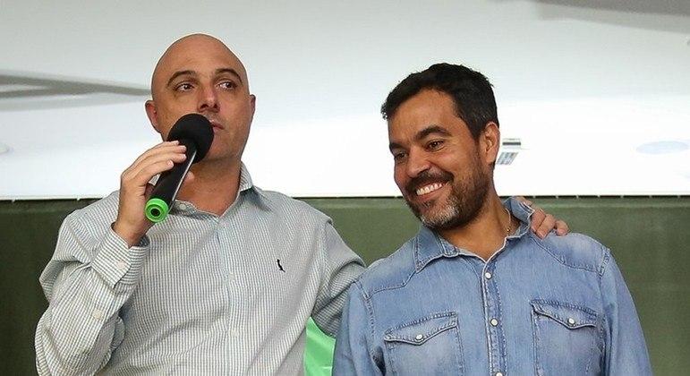 O presidente Galiotte apoia a filosofia agressiva do coordenador da base, João Paulo Sampaio