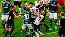Noite de guerra. Palmeiras e Corinthians querem se sabotar