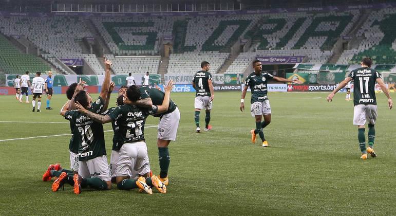 Palmeiras cada vez mais competitivo. E com grande união. Campanha histórica