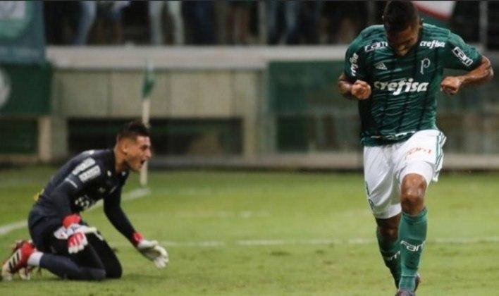 Palmeiras 2 x 0 São Paulo (Campeonato Paulista) – 8/3/2018 – Gols: Antônio Carlos, 9'/1°T (1-0) e Borja, 31'/1°T (2-0)