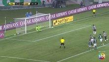 Para o Atlético, o empate foi um castigo. Para o Palmeiras, um presente