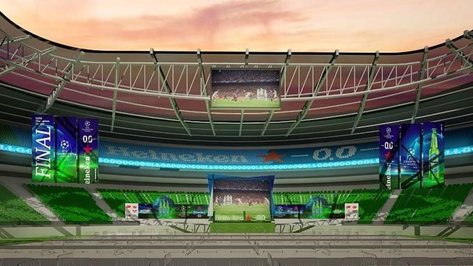 Allianz Parque virará um grande drive-in para a final da Champions